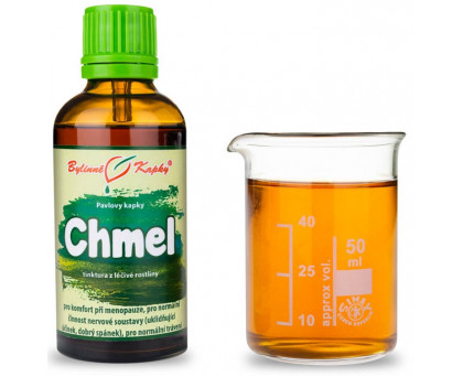 Chmel kapky (tinktura) 50 ml