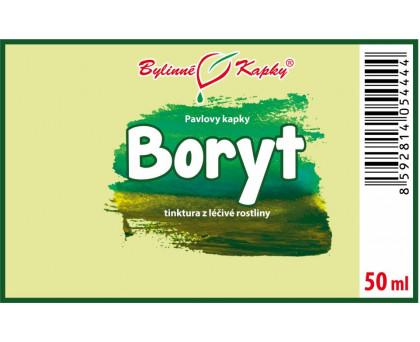 Boryt - bylinné kapky (tinktura) 50 ml