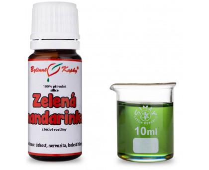 Zelená mandarinka - 100 % přírodní silice - esenciální (éterický) olej 10 ml
