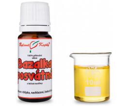 Bazalka posvátná - 100 % přírodní silice - esenciální (éterický) olej 10 ml
