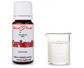 Koriandr 100% přírodní silice - esenciální (éterický) olej 10 ml