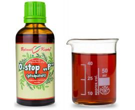 """Onko """"P"""" - retroperitonea (předpáteří) - bylinné kapky (tinktura) 50 ml"""
