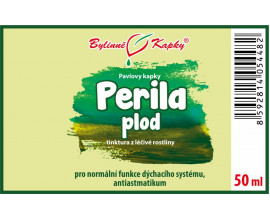 Perila krovitá kvapky (tinktúra) 50 ml