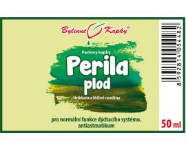 Perila plod - bylinné kapky (tinktura) 50 ml