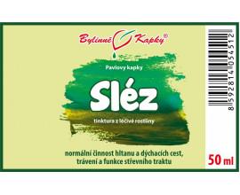 Sléz - bylinné kapky (tinktura) 50 ml