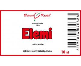Elemi - 100% přírodní silice - esenciální (éterický) olej 10 ml