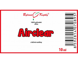 Airclear - 100 % přírodní silice - esenciální (éterický) olej 10 ml