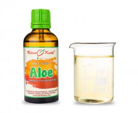 Aloa pravá - bylinné kvapky (tinktúra) 50 ml