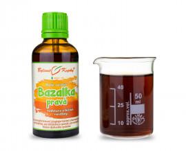 Bazalka pravá - kvapky Duša rastlín (tinktúra)  50 ml
