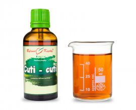 Cuti - cuti - bylinné kapky (tinktura) 50 ml