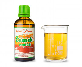 Česnek medvědí - bylinné kapky (tinktura) 50 ml