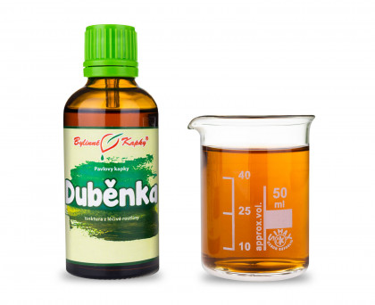 Duběnka kapky (tinktura) 50 ml