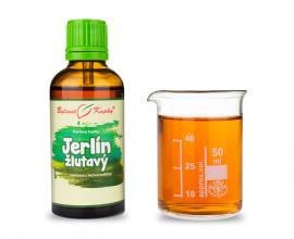 Jerlín žlutavý - bylinné kapky (tinktura)  50 ml