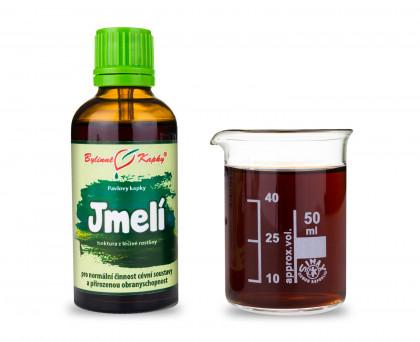 Jmelí - bylinné kapky (tinktura) 50 ml