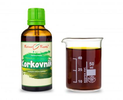 Korkovník - bylinné kapky (tinktura) 50 ml