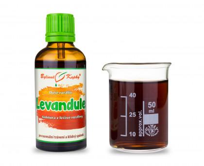 Levandule kapky (tinktura) 50 ml