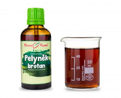 Pelyněk brotan - bylinné kapky (tinktura) 50 ml