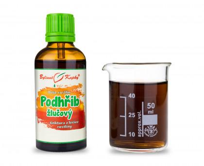 Podhřib žlučový - bylinné kapky (tinktura) 50 ml