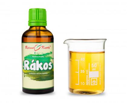 Rákos - bylinné kapky (tinktura) 50 ml