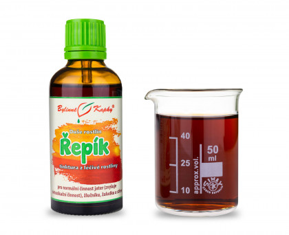 Řepík kapky (tinktura) 50 ml