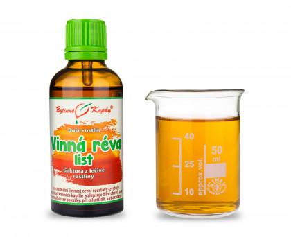Vinná réva list kapky (tinktura) 50 ml