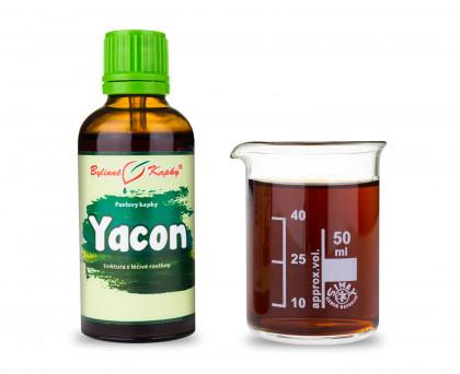 Yacon - bylinné kapky (tinktura) 50 ml