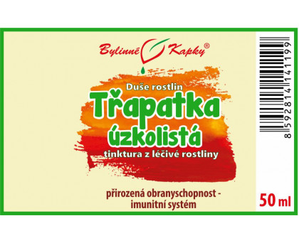 Echinacea angustifolia (třapatka úzkolistá) bylinné kapky  (tinktura) 50 ml