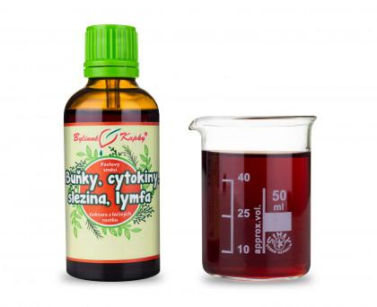 Buňky, cytokiny, slezina, lymfa (Netopýr 3) - bylinné kapky (tinktura) 50 ml