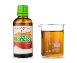 Hořčice - bylinné kapky (tinktura) 50 ml