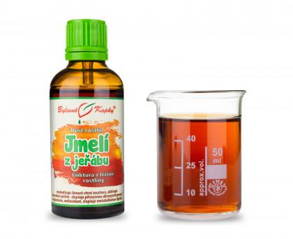 Jmelí z jeřábu - bylinné kapky (tinktura) 50 ml