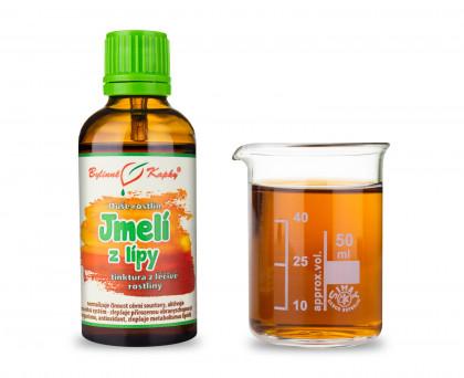 Jmelí z lípy - bylinné kapky (tinktura) 50 ml