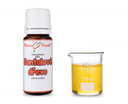 Santal (santalové dřevo) 100% přírodní silice - esenciální (éterický) olej 10 ml