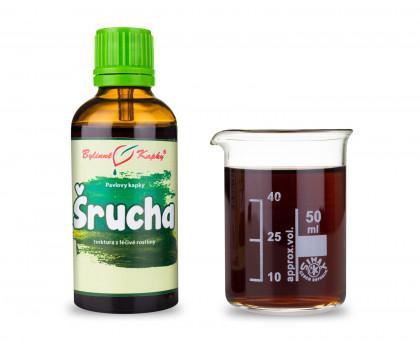 Šrucha - bylinné kapky (tinktura) 50 ml