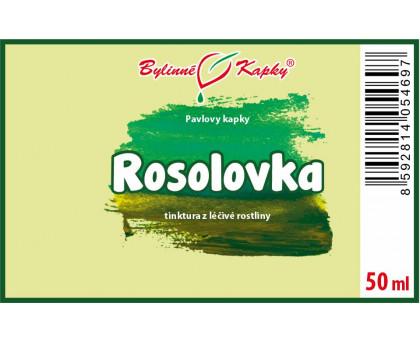 Rosolovka - bylinné kapky (tinktura) 50 ml
