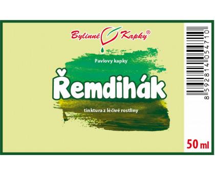 Řemdihák - bylinné kapky (tinktura) 50 ml