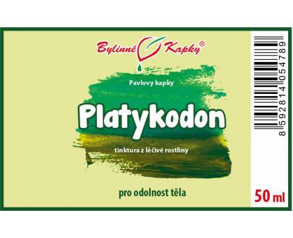 Platykodon - bylinné kapky (tinktura) 50 ml