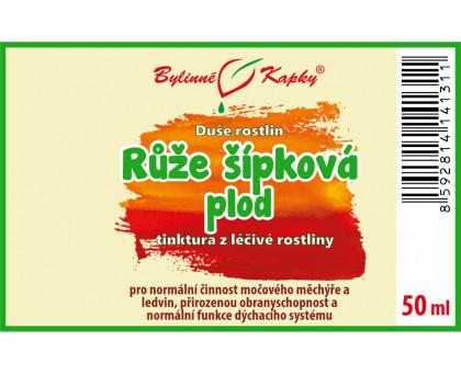 Růže šípková (šípek) - kapky Duše rostlin (tinktura) 50 ml