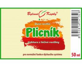 Plicník - kapky Duše rostlin (tinktura) 50 ml