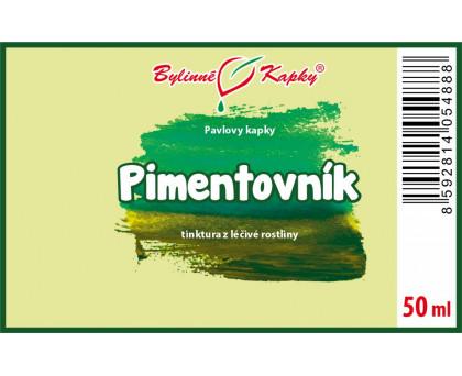 Pimentovník - bylinné kapky (tinktura) 50 ml