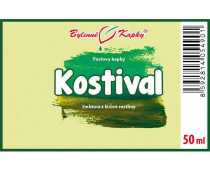 Kostival - bylinné kapky (tinktura) 50 ml