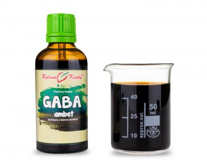 GABA ambet kapky (tinktura) 50 ml