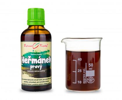 Heřmánek pravý  kapky (tinktura) 50 ml