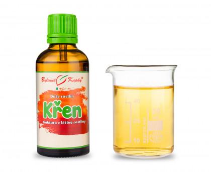 Křen - bylinné kapky (tinktura) 50 ml