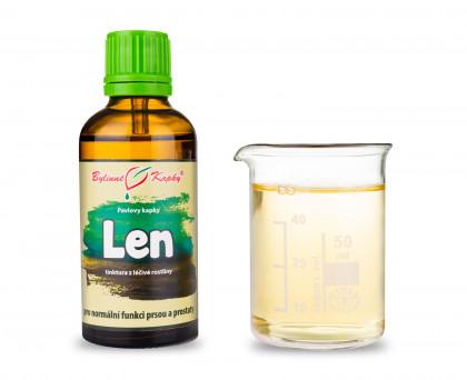 Len - bylinné kapky (tinktura) 50 ml