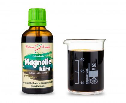 Magnolie kůra - bylinné kapky (tinktura) 50 ml