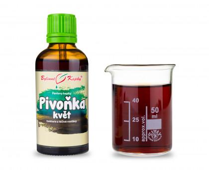 Pivoňka kapky (tinktura) 50 ml