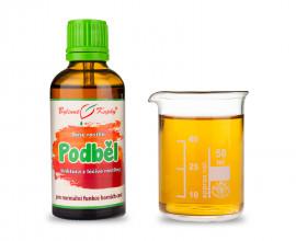 Podběl - kapky Duše rostlin (tinktura) 50 ml