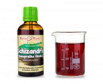 Schizandra (klanopraška) kapky (tinktura) 50 ml