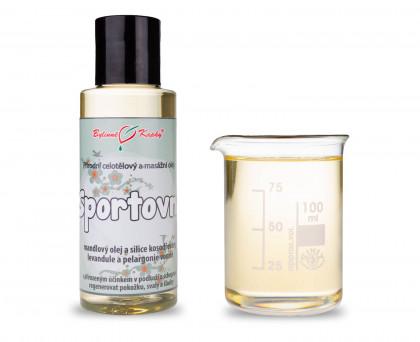 Sportovní masáž - masážní olej celotělový 100ml