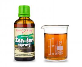 Žen-šen (ženšen) nepravý - bylinné kapky (tinktura) 50 ml